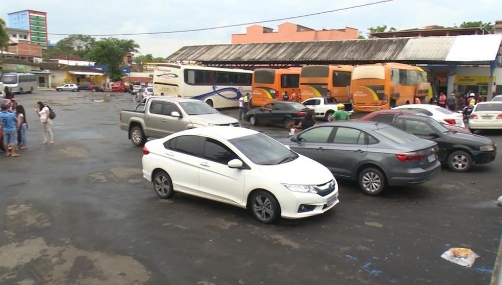 Rodoviária da cidade está lotada no mês de dezembro por conta da busca por passagens — Foto: Jhonathan Fabrício/Rede Amazônica Acre