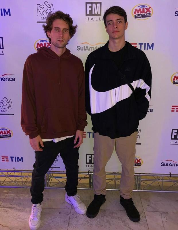 Felipe Ricca e Rodrigo Silvestrini (Foto: Reprodução/Instagram)
