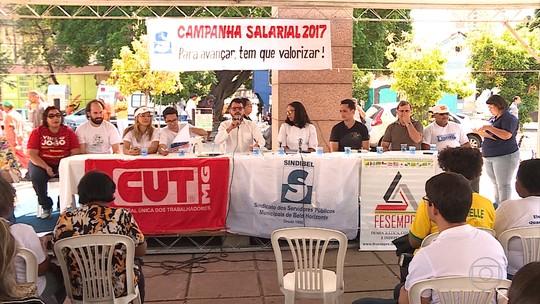 Servidores fazem assembleia e rejeitam novamente proposta de reajuste salarial oferecida pela Prefeitura de BH