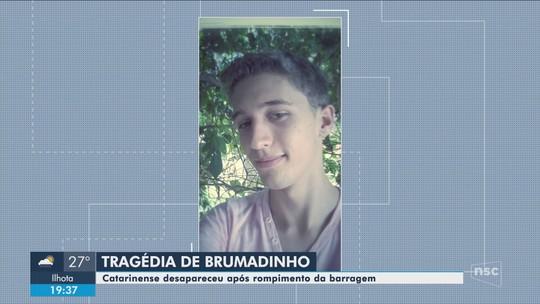 'Muito chocado', diz pai de jovem de SC que pode estar entre as vítimas de Brumadinho