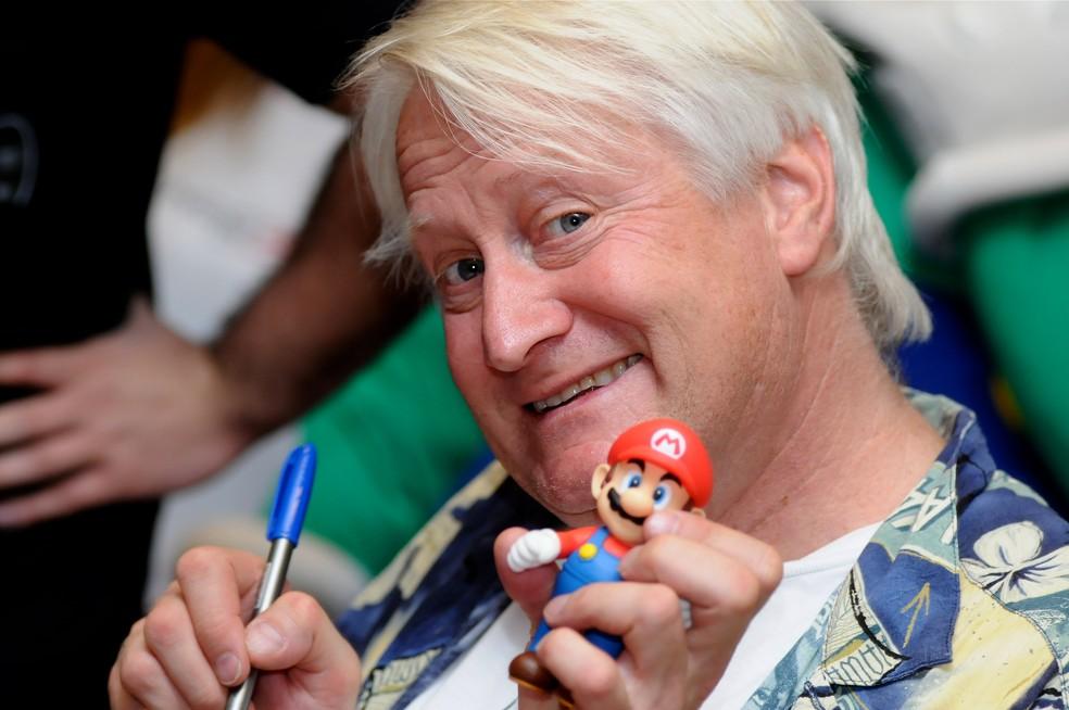 Charles Martinet dubla os personagens da Nintendo desde 1995 — Foto: Reprodução/Nintendo Life