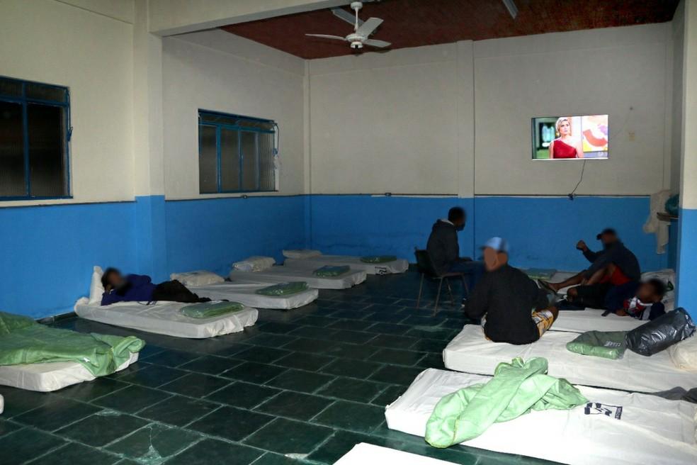 Barra Mansa vai inaugurar um abrigo fixo no mesmo local ainda neste mês — Foto: Divulgação/Prefeitura de Barra Mansa