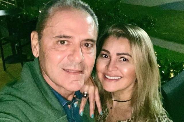 Luis Roberto com a mulher, Jacy Santos (Foto: Reprodução Instagram)