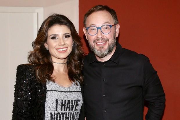 Paula Fernandes e Claudio Mello  (Foto: Manuela Scarpa/Brazil News)