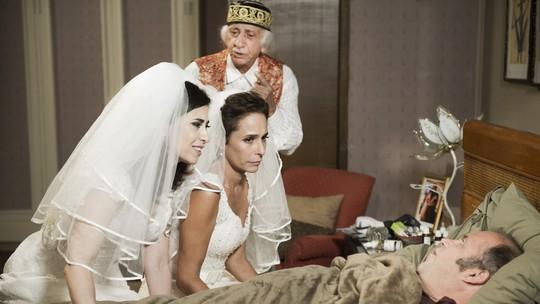 Fátima e Sueli sobem ao altar no último episódio! Não percam as emoções finais de 'Tapas'
