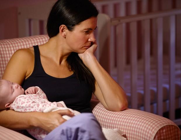 Pesquisadores descobrem novos fatores para depressão pós-parto (Foto: Thinkstock)