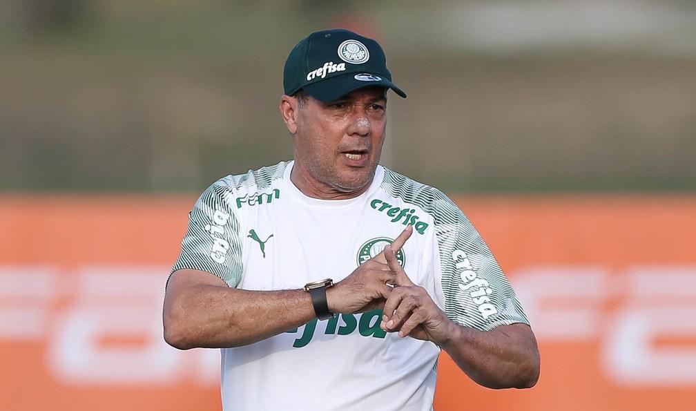 Vanderlei Luxemburgo, técnico do Palmeiras — Foto: César Greco/Ag.Palmeiras