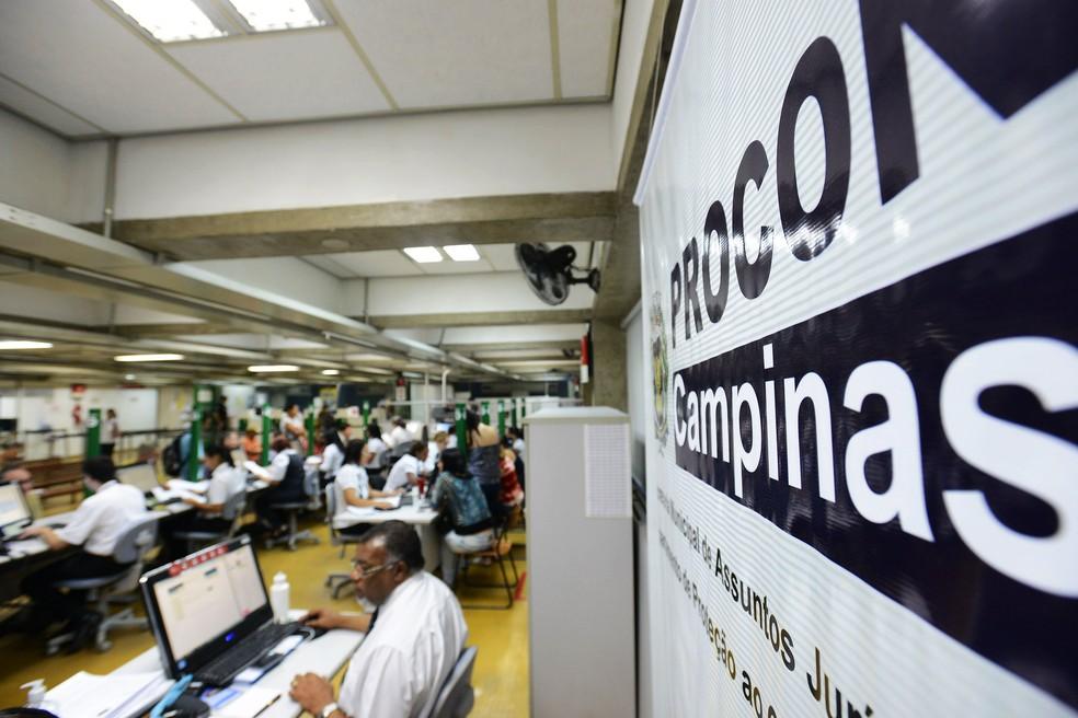 Unidade do Procon, em Campinas — Foto: Carlos Bassan/Prefeitura de Campinas