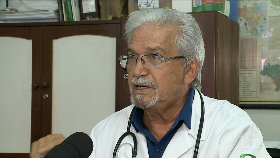 Dr. Antonio Rafael da Silva (Foto: Reprodução/TV Mirante)