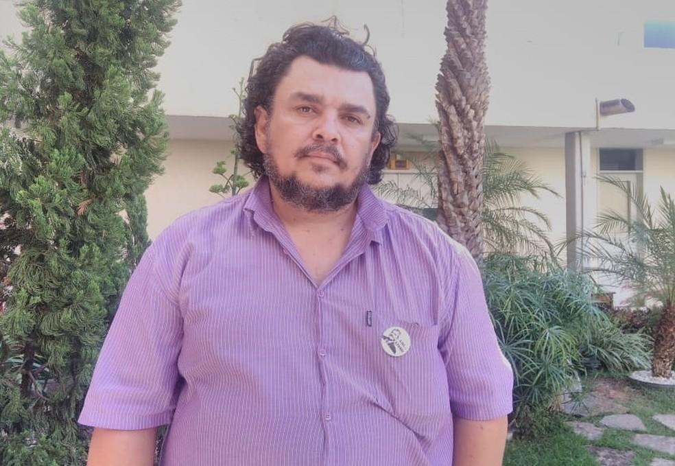 Candidato José Mikaelton (Foto: G1/CE)