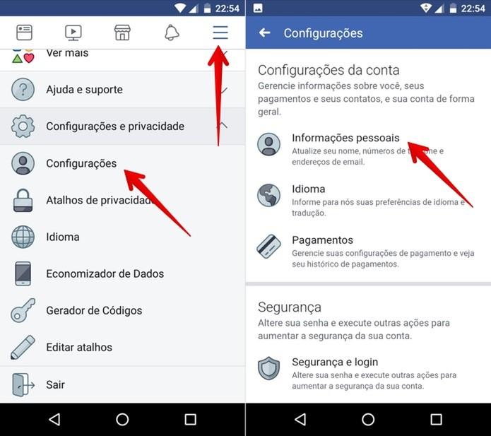 995615e358 Acesse as configurações do Facebook (Foto: Reprodução/Helito Beggiora)