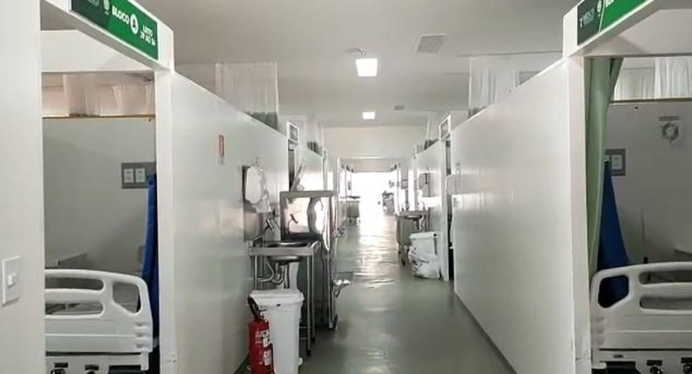 Há 13 pacientes internados nos hospitais de referência, dos quais 10 com teste positivo para a Covid — Foto: Reprodução
