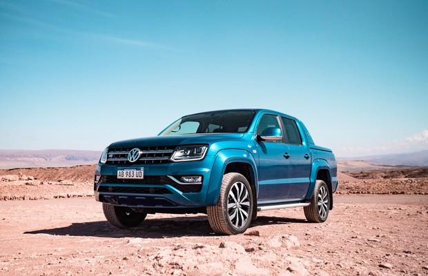 Volkswagen Amarok V6 em uma aventura pelos Andes chilenos (Foto: Ricardo Sant'Anna)