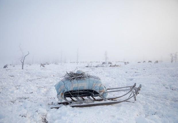A desoladora existência das mulheres esquecidas nas terras geladas do norte da Sibéria (Foto: Oded Wagenstein)