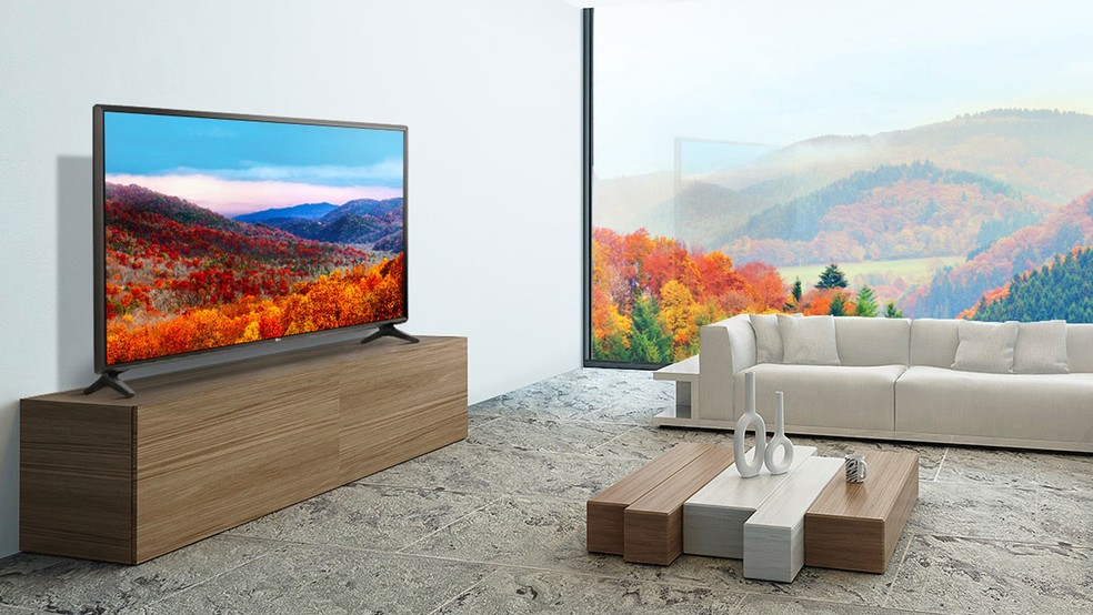 TV LG ThinQ AI traz comandos de voz e sistema webOS — Foto: Divulgação/LG