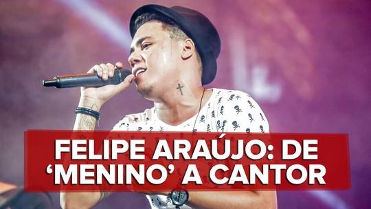 Felipe Araújo fala de comparações com irmão Cristiano: 'Nunca gostei de me aproveitar da história'