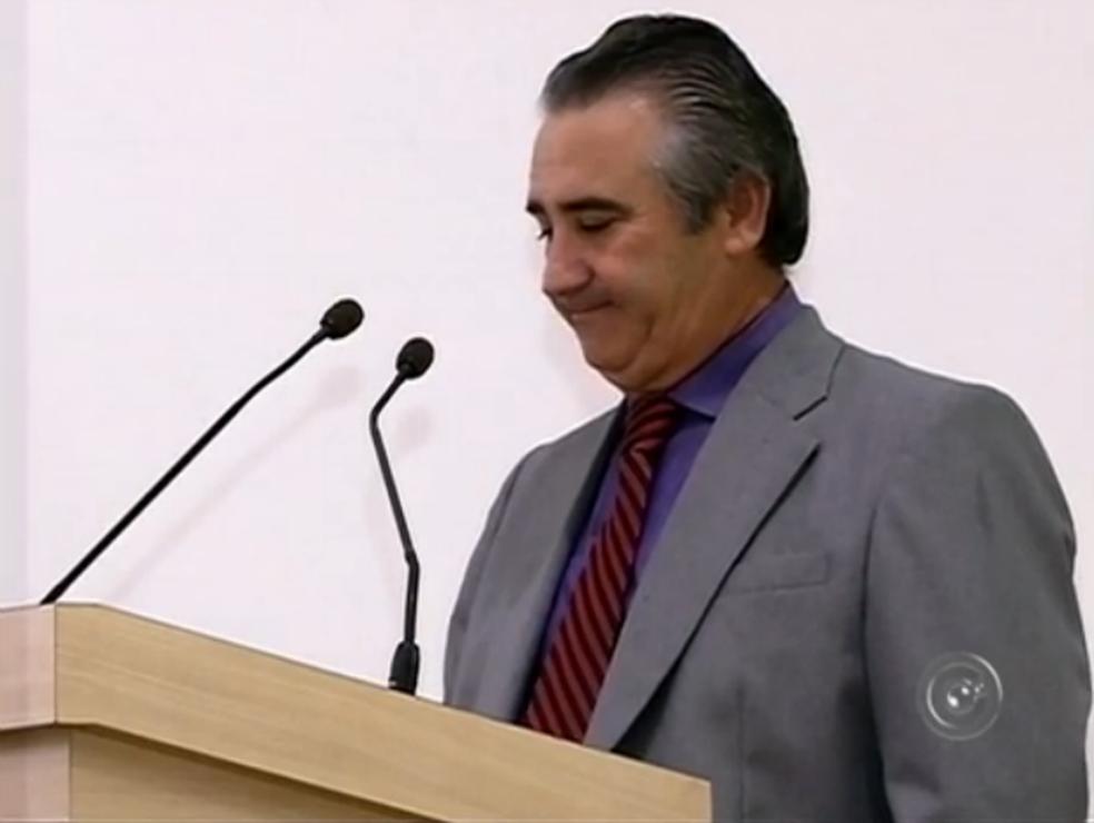 Ex-prefeito de Itaí morre ao se envolver em acidente entre veículos (Foto: Reprodução/TV TEM)