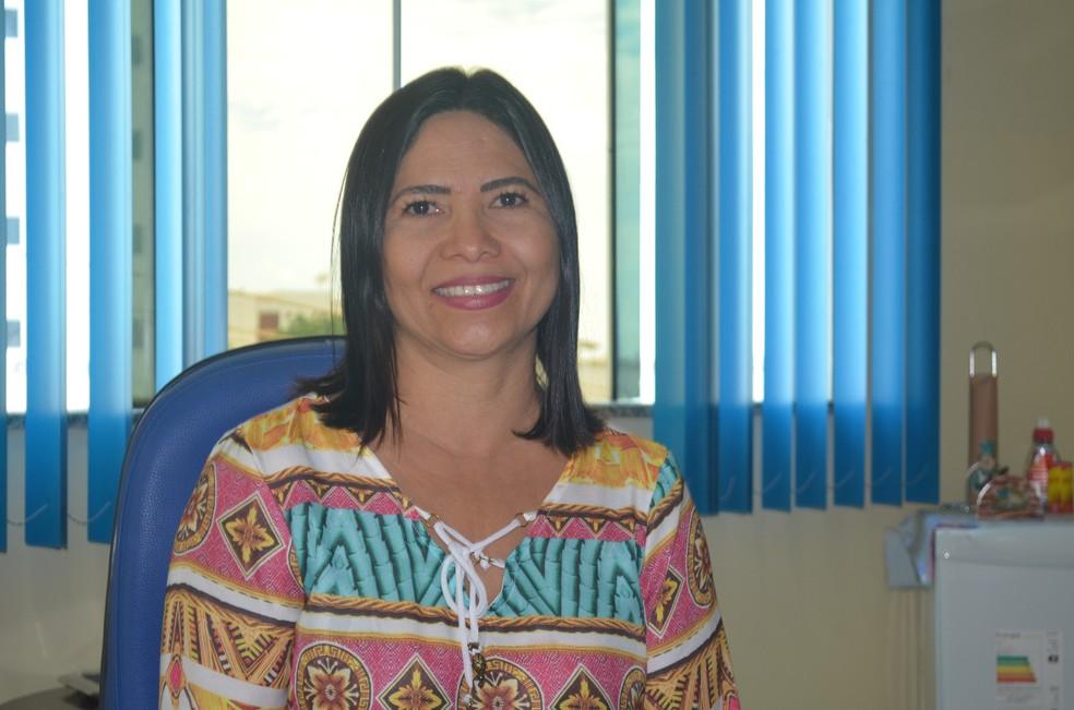 -  Mara Belo assumiu a pasta nesta quinta-feira e concedeu uma entrevista ao G1  Foto: Fábio Cadete/G1