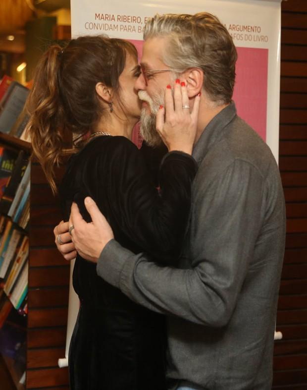 Maria Ribeiro e Fábio Assunção (Foto: AgNews)