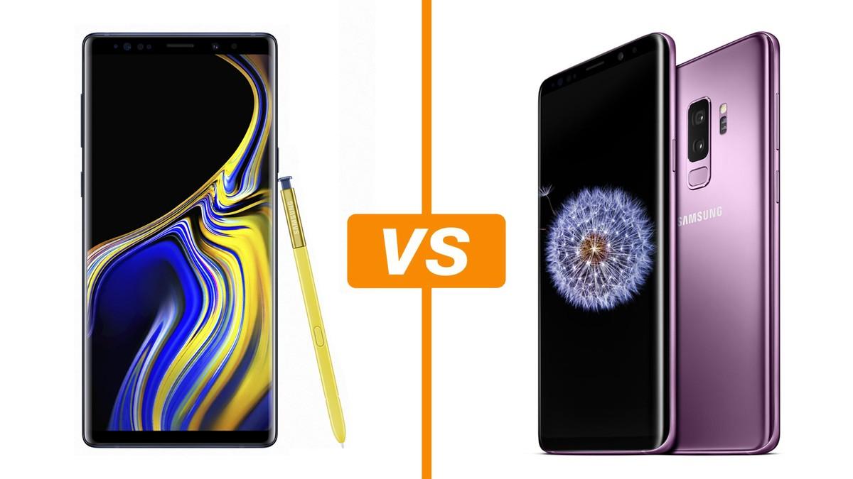 9f9d72a23 Galaxy Note 9 ou Galaxy S9  Conheça diferenças de ficha técnica e preço