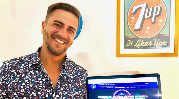William Santuzzi fundou a Go Festivals, agência de turismo focada em festivais de música eletrônica (Foto: Divulgação)