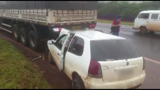 Indígena morre e outros dois ficam feridos após acidente na BR-369