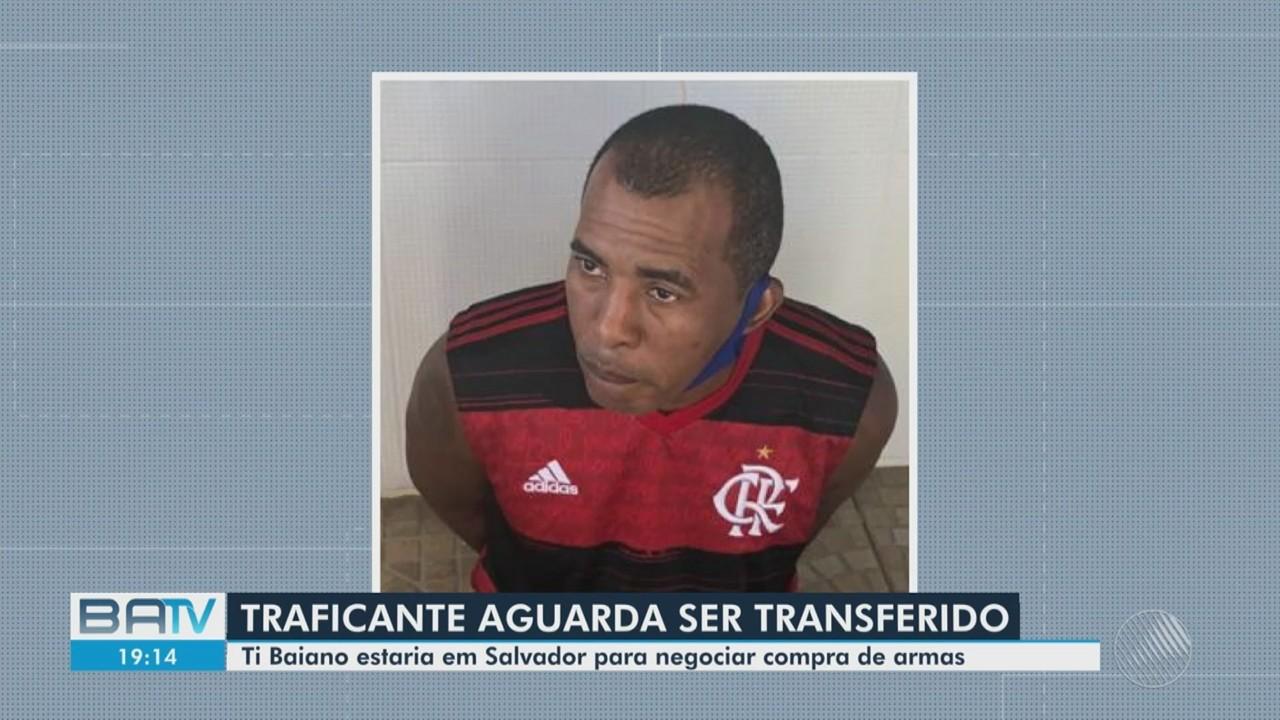 Traficante que estava hospedado em Salvador aguarda transferência para o Rio de Janeiro