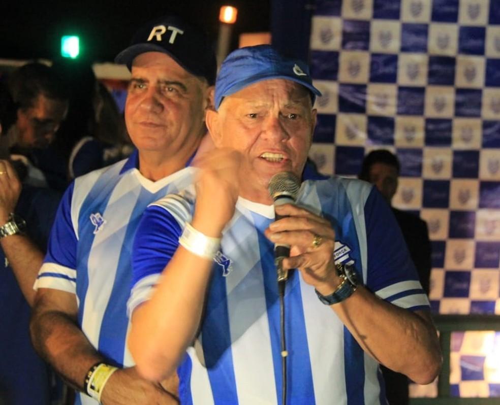 Rafael Tenório falou sobre as metas do CSA — Foto: Denison Roma/GloboEsporte.com