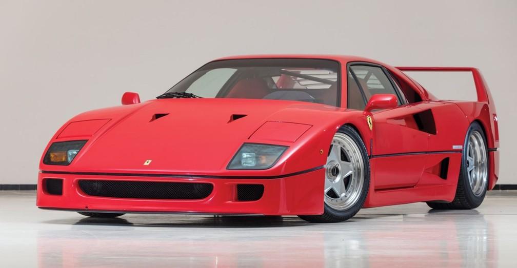 Ferrari F40 1992 (Foto: Divulgação)