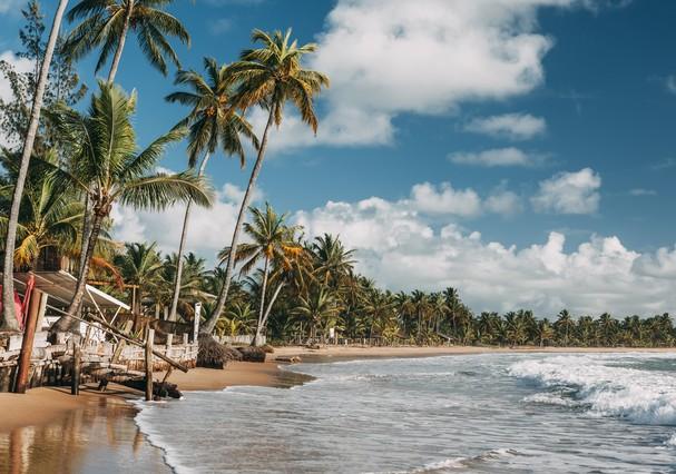 A Península de Maraú é considerada como o Caribe da Bahia   (Foto: Thinkstock)