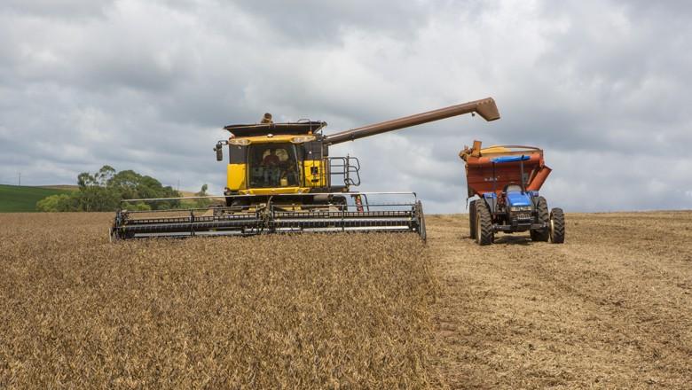 A colheita de soja é um dos destaques da edição de fevereiro da revista Globo Rural (Foto: Fernando Martinho)