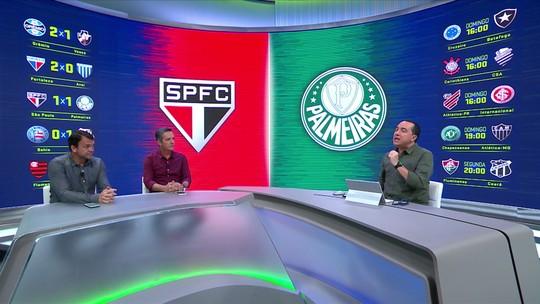 Villani crava falha de Volpi, e Noriega vê tempos distintos no empate entre São Paulo e Palmeiras