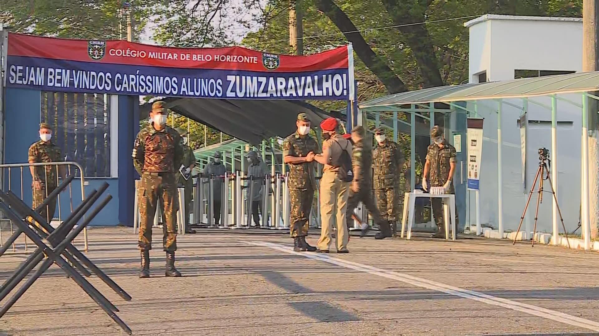 STF confirma decisão que permitiu retomada das aulas presenciais no Colégio Militar de Belo Horizonte