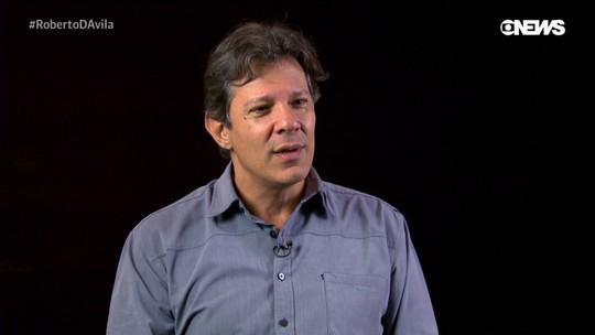 Roberto D'Avila: Fernando Haddad discute sobre os caminhos do PT na corrida presidencial