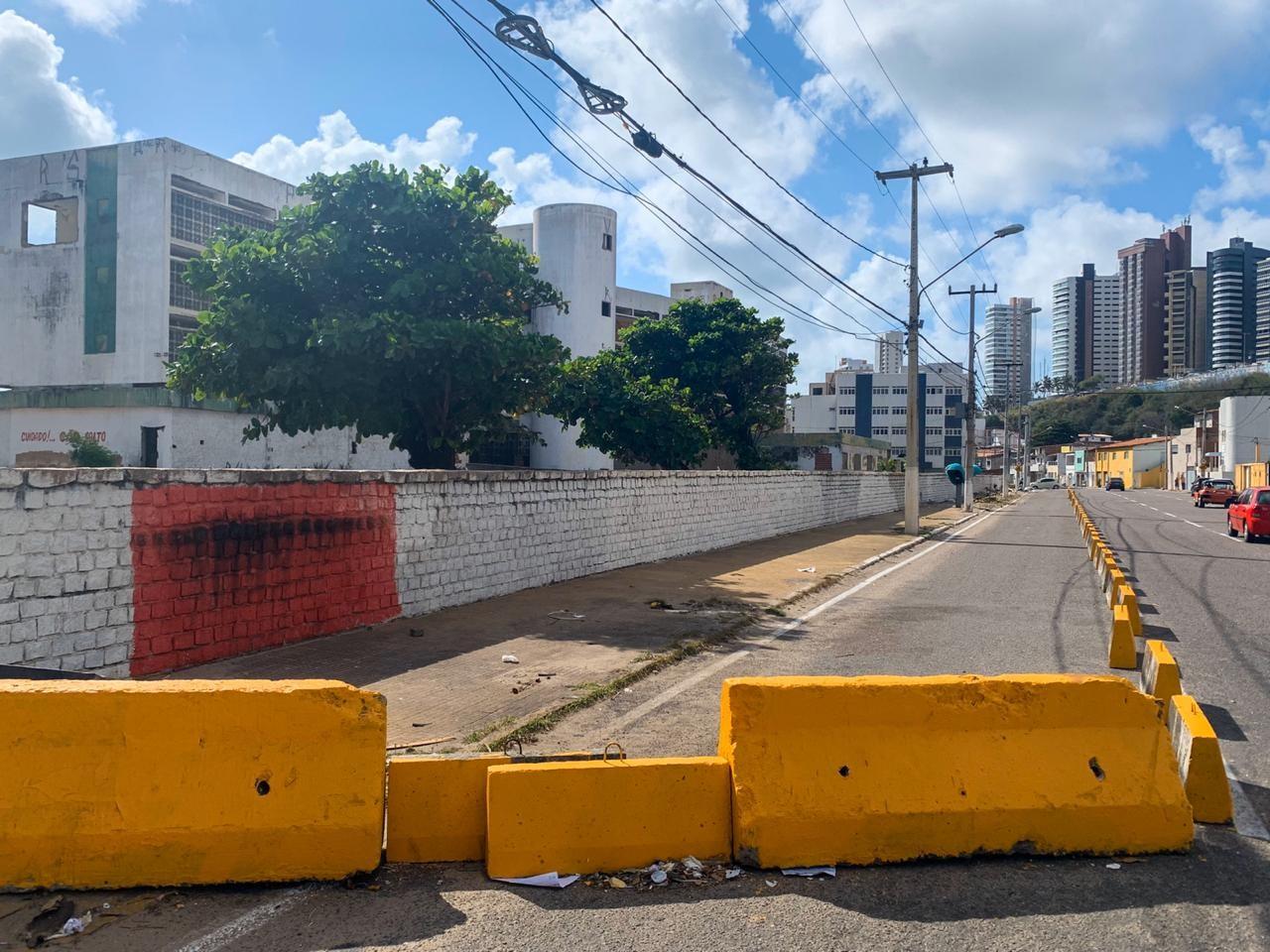 STTU interdita ruas no entorno do Hotel Reis Magos em Natal - Notícias - Plantão Diário