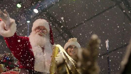 Veja em todos os ângulos as festividades do Natal Luz