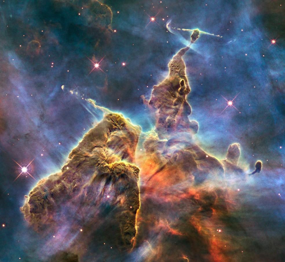 Site da NASA mostra fotos do espaço tiradas no dia do seu aniversário — Foto: Reprodução/NASA