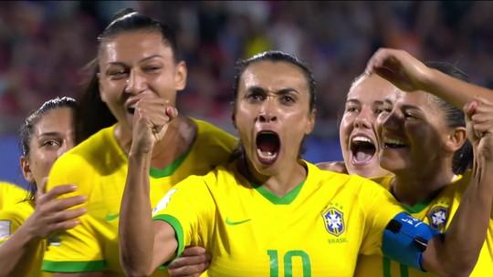Artistas e atletas mandam mensagens de apoio para a Seleção Brasileira feminina