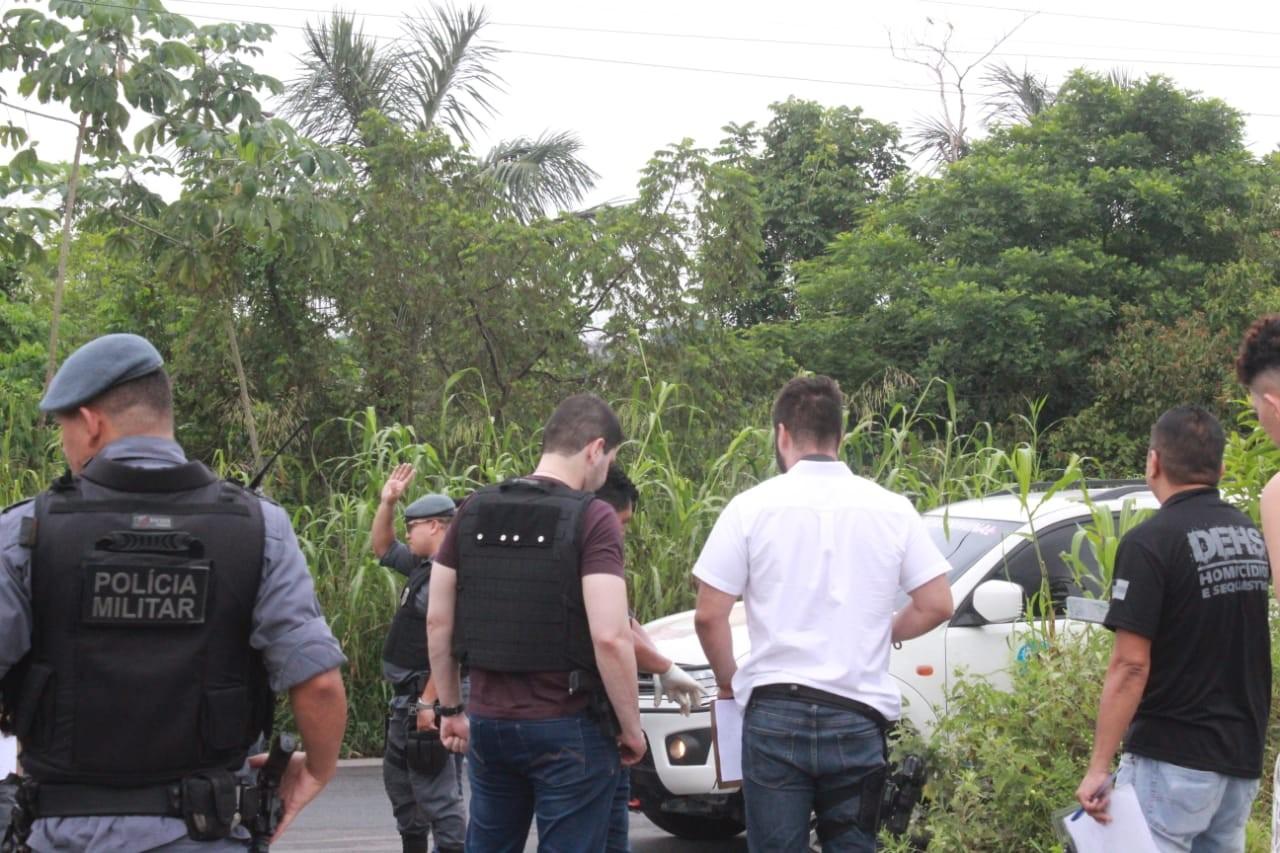Homem é encontrado morto com tiro na nuca em área de mata no Terra Nova, em Manaus  - Notícias - Plantão Diário