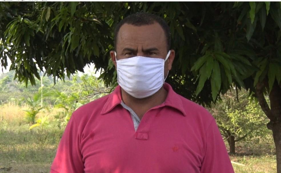 Gerson Maia, candidato pelo PSD em Guajará-Mirim — Foto: Reprodução/Rede Amazônica