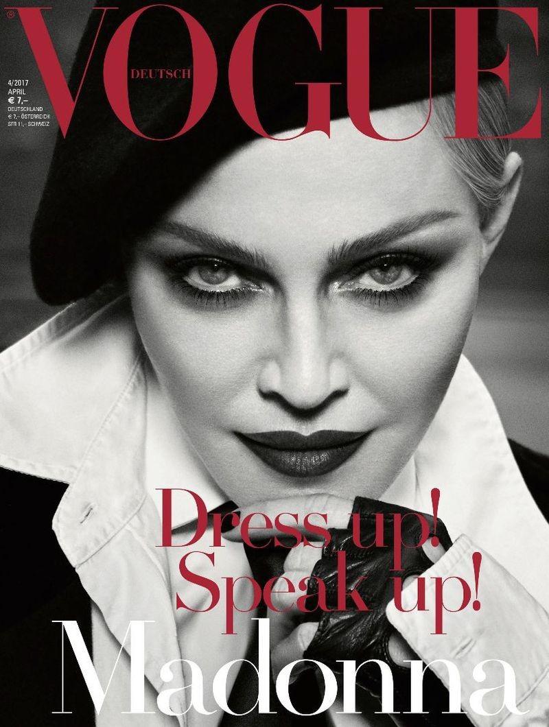 Vogue Germany Madonna by Luigi and Iango for Vogue Germany [April 2017 issue]  (Foto: Reprodução )
