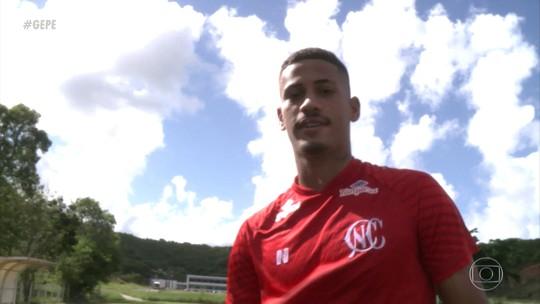 """""""Tudo é possível"""": Hereda supera dramas, cresce no Náutico e sonha alto no futebol"""