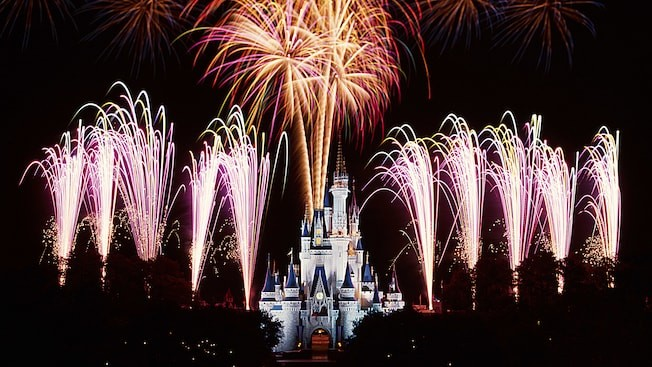 Wishes - show de fogos do Magic Kingdom
