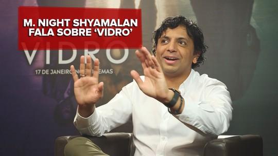 'Vidro' subverte gênero de super-heróis, diz M. Night Shyamalan