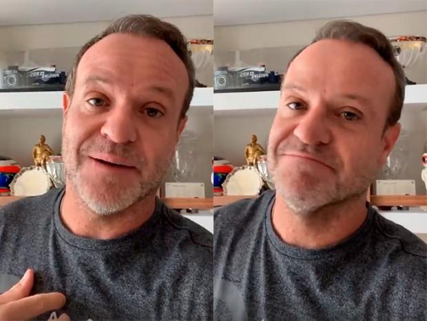 Rubens Barrichello (Foto: Reprodução/Instagram)