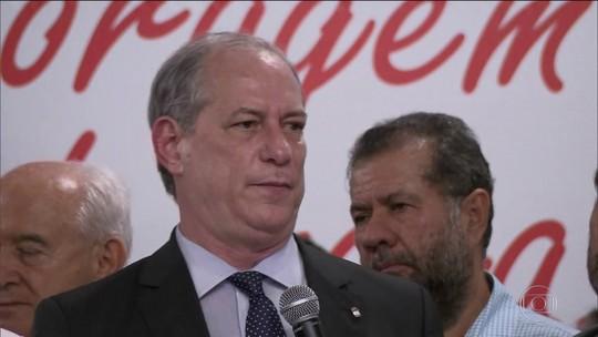 PDT lança pré-candidatura de Ciro Gomes à Presidência da República
