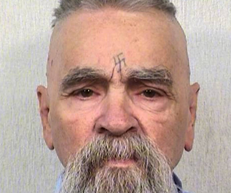 -  Serial killer Charles Manson  Foto: California Department of Corrections and Rehabilitation via AP