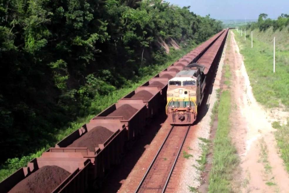 Ferrovia de Carajás (Foto: Agência Pará )