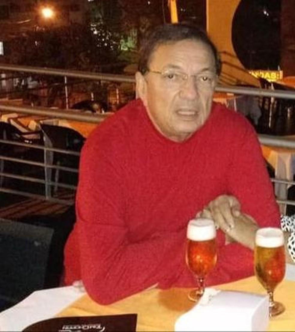 O pediatra Reinaldo Rodrigues de Oliveira, de 73 anos, morreu de Covid-19 nesse domingo (28) — Foto: Facebook/Reprodução