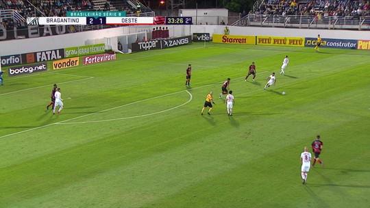 Análise: Bragantino tem rendimento abaixo e cede empate ao Oeste no Nabi Abi Chedid